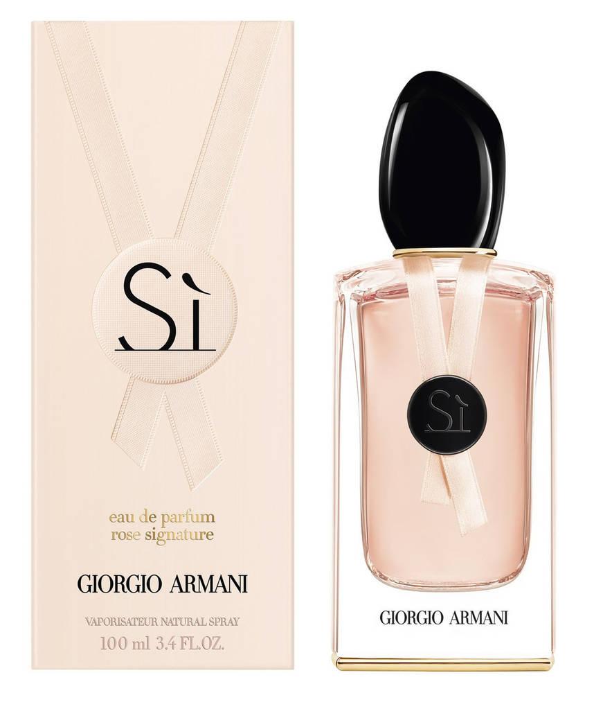 Женская парфюмерная вода Giorgio Armani Si Rose Signature Eau De Parfum (Джорджио  Армани Си ) 6b2b88d548650