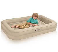 Детская надувная кровать Intex 66810 размер 107 х 168 х 25 см.