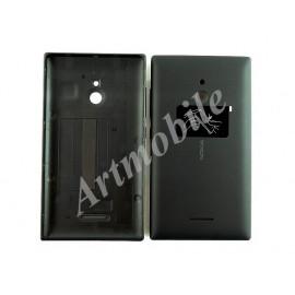 Задняя крышка Nokia XL Dual Sim (RM-1030/1042), черная, оригинал (Кита
