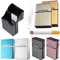 Портсигар кейс для сигарет. Контейнер для хранения сигарет