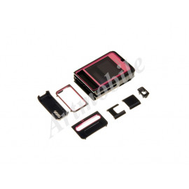 Корпус Nokia 3250, черно-розовый