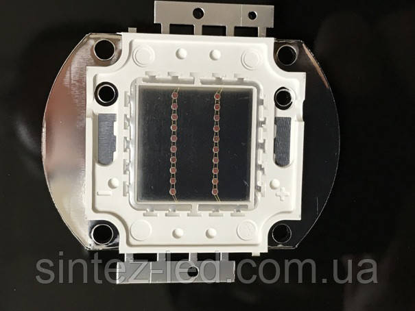 Светодиод матричный PREMIUM СОВ для прожектора SL-20 20W красный (45Х45 mil) Код.59169