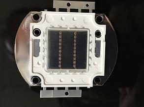 Светодиод матричный PREMIUM СОВ для прожектора SL-20 20W красный (45Х45 mil) Код.59169, фото 2