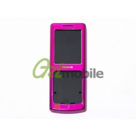 Корпус Nokia 6500 Classic, темно-розовый