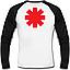 Футболка с длинным рукавом Red Hot Chili Peppers (logo), фото 2