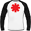 Футболка з довгим рукавом Red Hot Chili Peppers (logo), фото 2
