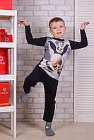 Детский комплект штаны+кофта для мальчика Турция. Kids Angel C-342. Размер 3-5 лет.
