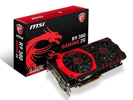"Видеокарта MSI R9 380 2048MB GDDR5 (256bit) ""Over-Stock"" Б/У"