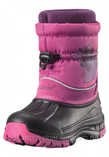 Сапоги зимние для девочки LASSIETEC BAFFIN 769113-4800. Размеры 25 -35.