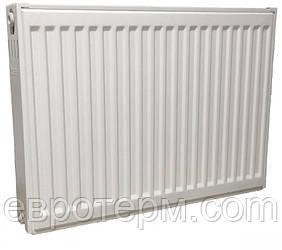 Стальной панельный радиатор отопления Savanna 22 тип 500*600 боковое подключение Турция 1222 Ватт