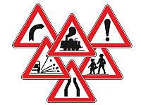 Обычные дорожные знаки