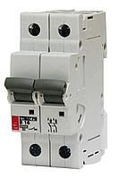 Автоматический выключатель для цепей постоянного тока ETIMAT 10  DC Uн=500V 2А 2 полюса кривая С