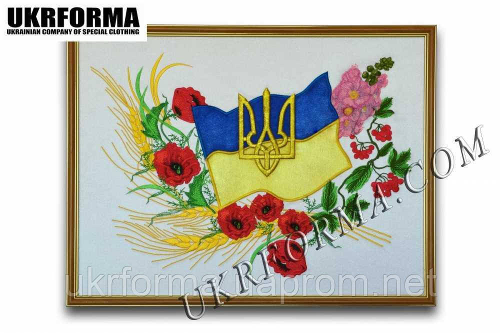 Вишита картина Українська символіка №1