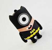 Аккумулятор Повербанк,  Power Bank MINIONE- Бетмен 4800 мАч
