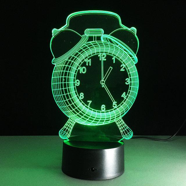 3Д светильник, 3Д ночник, 3Д лампа,
