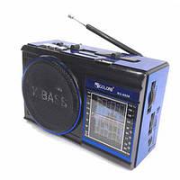 Радиоприемник портативный RADIO GOLON RX-9009, FM USB MP3 SD + led фонарик