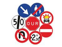 Высокопроизводительные дорожные знаки