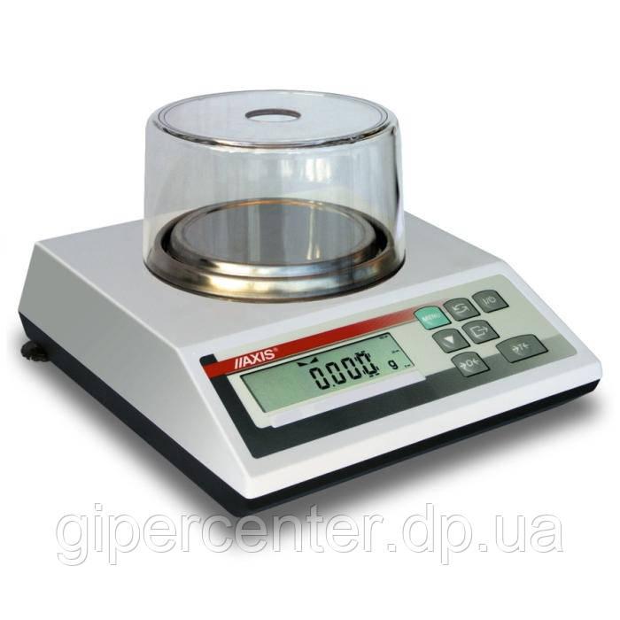 Весы лабораторные Axis AD 600 до 600 г, дискретность 0,002 г