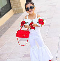 Шикарный детский комбинезон с яркой вышивкой