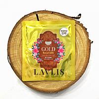 Гидрогелевая маска для лица питательная с золотом и маточкиным молочком Koelf Gold & Royal Jelly Hydro Gel Mask