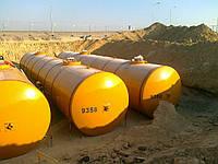 Монтаж подземных резервуаров и емкостей