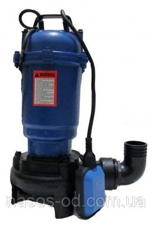 Канализационный насос фекальный Kenle P-201 для выгребных ям 2.6кВт Hmax12м Qmax200л/мин (с ножом)