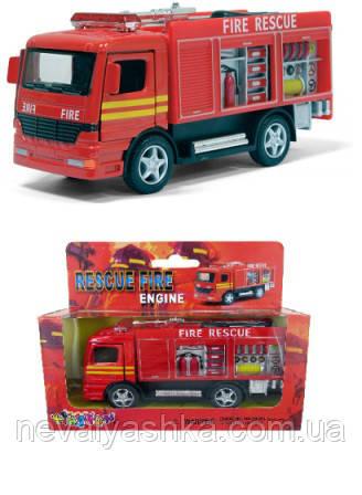 Kinsmart металлическая инерционная машинка Пожарная машина Кинсмарт KS5110W 003945