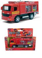 Kinsmart металлическая инерционная машинка Пожарная машина Кинсмарт KS5110W 003945, фото 1