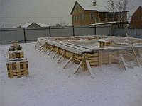 Бетон и мороз. Защита бетона зимой.