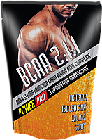 Аминокислоты Power Pro - BCAA 2:1:1 Mega Strong (500 грамм)