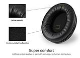 Оригинал беспроводные Bluetooth наушники Ausdom M06 Black / Полноразмерные/ Накладные, фото 4