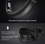 Оригинал беспроводные Bluetooth наушники Ausdom M06 Black / Полноразмерные/ Накладные, фото 5