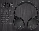 Оригинал беспроводные Bluetooth наушники Ausdom M06 Black / Полноразмерные/ Накладные, фото 3