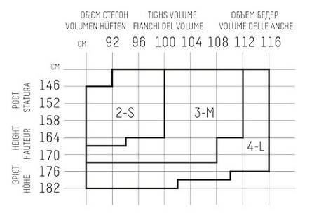 Колготы женские GIULIA Talia Control 20 , фото 2