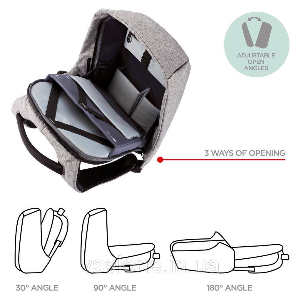 9b6ad6889aa6 ... Оригинал! Рюкзак для ноутбука XD Design Bobby Compact Anti-Theft 14