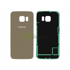 Задняя крышка Samsung G925F Galaxy S6 Edge, золотистая, Gold Platinum,