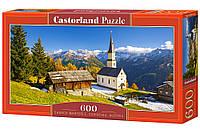 Пазлы '' Церковь, Австрия '' Castorland 600 элементов