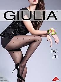 Колготи жіночі з візерунком GIULIA Eva 20 (1)