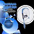 Наушники с микрофоном Promate Glitzy Blue, фото 3