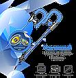 Наушники с микрофоном Promate Glitzy Blue, фото 2