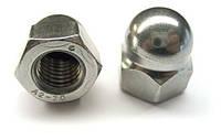 Гайка колпачковая DIN 1587 M3 нержавеющая сталь A2 (1000 шт/уп)