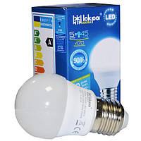 Лампа светодиодная G45 5Вт 4000K Е27 'Шар' LED TM ISKRA
