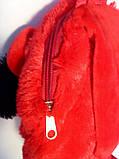 Детский рюкзак игрушка Минни Маус с бабочкой 22*24 см, фото 3