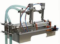 Поршневой дозатор для розлива жидкостей на 2 головки, фото 1