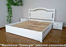 """Кровать с мягким изголовьем """"Фантазия Премиум"""", фото 2"""