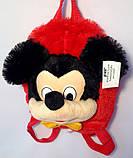 Детский рюкзак игрушка Минни Маус с бабочкой 22*24 см, фото 2