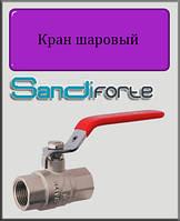 """Кран шаровый SD Forte 1"""" ВВ вода (стальной рычаг)"""