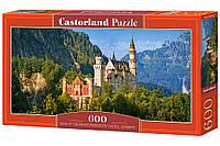 Пазлы '' Замок Нойшванштайн, Германия '' Castorland 600 элементов