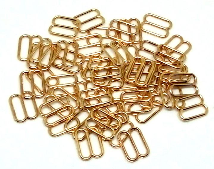 Регулятор 12 мм металл золото