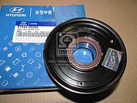 Шкив компрессора кондиционера Hyundai Azera 11-/i30 12-/Sonata/Magentis 10-/Soul 11- (пр-во Mobis) 976433R000